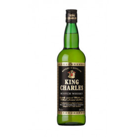 WHISKY KING CHARLES X 750 ML.