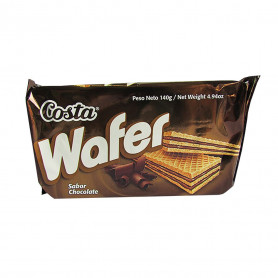 COSTA WAFER X 140 GR. CHOCOLATE