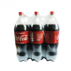 COCA COLA GASEOSAS NORMAL X 2.250 ML X 6 UN