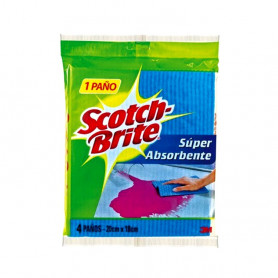 PAÑOS SCOTCH BRITE SUPER ABSORVENTE X 1 UN