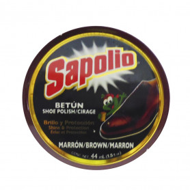SAPOLIO BETUN PASTA X 44 ML. MEDIANO MARRON