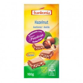 FRANKONIA CHOCOLATE X 100 GR. HAZELNUT